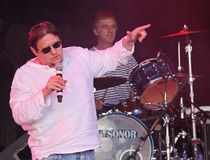Shaun Ryder of the Happy Mondays at Guilfest Royalty Free Stock Photo