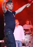 Shaun Ryder & Mark Berry (Bez) of Happy Mondays Royalty Free Stock Photography