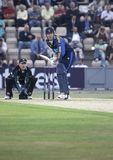 Shaun Udal. Hampshire v Worcestershire, Natwest Pro 40, The Rose Bowl, Southampton. 13th September 2006 Royalty Free Stock Photo