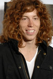 Shaun White on the red carpet. Shaun White appearing on the red carpet Royalty Free Stock Photos