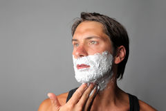 Shave Royalty Free Stock Images