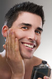 After shave Royalty Free Stock Photo