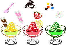 Shave ice Royalty Free Stock Photography