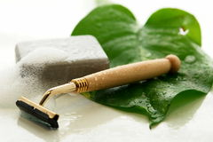Daily shave tools Royalty Free Stock Images