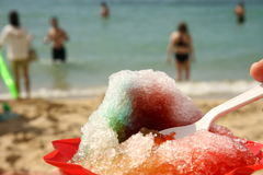 Shaved ice Stock Photo