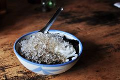 Shaved ice dessert Royalty Free Stock Images