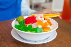 Shaved Ice dessert Royalty Free Stock Photography