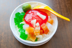 Shaved Ice dessert Royalty Free Stock Image