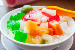 Shaved Ice dessert Stock Photography