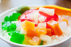 Shaved Ice dessert Royalty Free Stock Photo