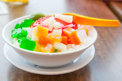 Shaved Ice dessert Stock Images