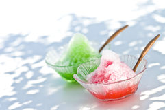 Shaved ice Stock Images