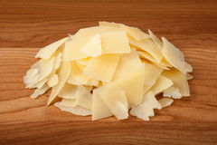 Shaved Parmesan Cheese Royalty Free Stock Photo