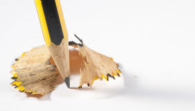 Shaved pencil Royalty Free Stock Photography