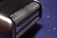 Shaver. Close-up of mens shaver Royalty Free Stock Image