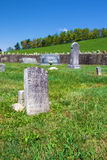 Shaver Cemetery on the Blue Ridge Parkway, Virginia, USA Royalty Free Stock Photo