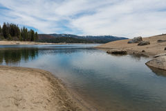 Shaver Lake shoreline Royalty Free Stock Image