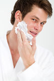 Shaving Royalty Free Stock Image