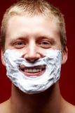 Before shaving Stock Image