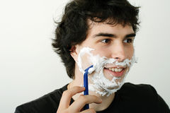 Shaving Royalty Free Stock Images