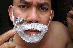 shaving Στοκ φωτογραφία με δικαίωμα ελεύθερης χρήσης