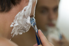 Shaving Royalty Free Stock Photos