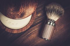Shaving accessories Stock Images