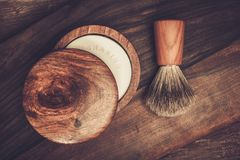 Shaving accessories Royalty Free Stock Photo