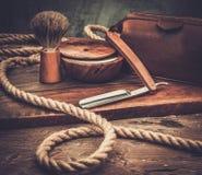 Shaving accessories Stock Photos