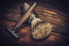 Shaving accessories Stock Image