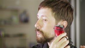 Shaving beards Stock Image