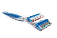 Shaving blades Stock Image