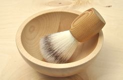 Shaving brush Royalty Free Stock Image