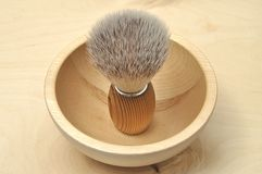 Shaving brush Royalty Free Stock Photography