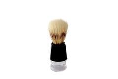 Shaving Brush. Vintage Shaving Brush. Close-up. Isolated on white background Stock Images