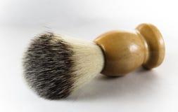 Shaving brush. On white background Royalty Free Stock Photos