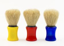 Shaving brushes ( Made out of boar hair) Royalty Free Stock Photo
