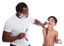 Shaving stock photography