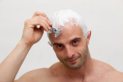 Shaving head Stock Images