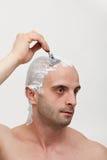 Shaving head royalty free stock photo