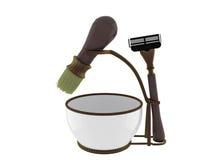 Shaving kit Royalty Free Stock Photography