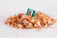 Shaving from a pencil Stock Photography