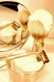 Shaving set Royalty Free Stock Image