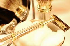 Shaving set Royalty Free Stock Images