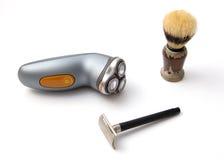 Shaving set Stock Photography