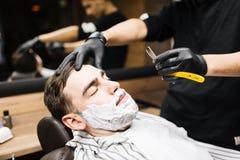 Shaving stubble Stock Image