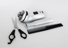 Shaving supplies Stock Photography