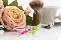Shaving Tool Stock Photography