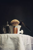 Shaving Tool with silver Crown Royalty Free Stock Photography