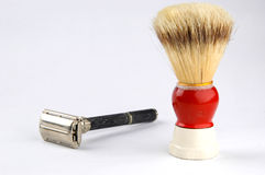 Shaving tools Stock Photos